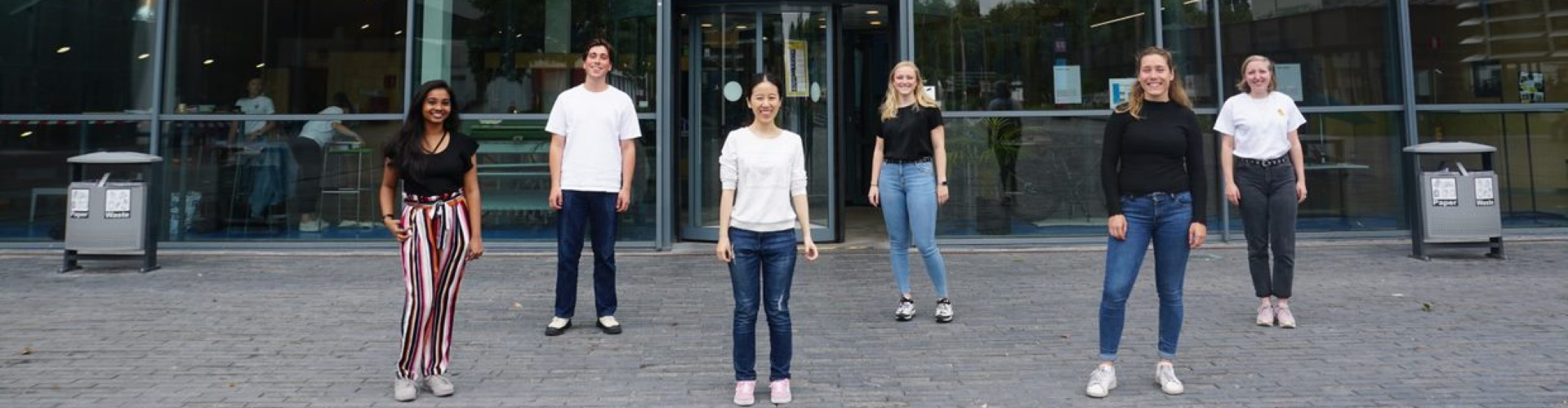 TU Delft AED 2020 groepsfoto